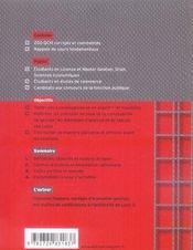 La comptabilité de gestion en qcm - 4ème de couverture - Format classique