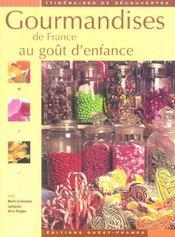 Gourmandises de France au goût d'enfance - Intérieur - Format classique