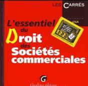 Essentiel Dt Stes Commerciales - Couverture - Format classique