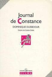Journal De Constance - Couverture - Format classique
