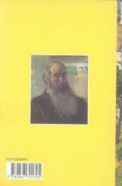 Camille Pissarro - 4ème de couverture - Format classique