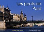 Les ponts de Paris - Couverture - Format classique