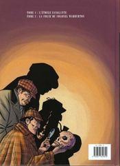 Sherlock Holmes t.2 ; la folie du colonel Warburton - 4ème de couverture - Format classique