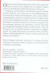 La Lumiere - Origine, Chemin Et Nourriture De L'In - 4ème de couverture - Format classique