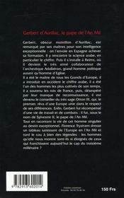 Histoire De Gerbert - 4ème de couverture - Format classique