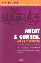Audit Et Conseil Vus De L'Interieur - Intérieur - Format classique