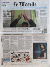 Monde (Le) N°20886 du 15/03/2012 - Couverture - Format classique
