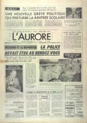 Aurore (L') N°10882 du 12/09/1979 - Couverture - Format classique