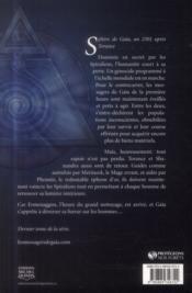 Les messagers de Gaïa t.9 ; ermenaggon - 4ème de couverture - Format classique