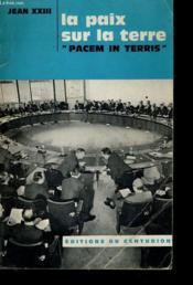 Pacem In Terris - Couverture - Format classique