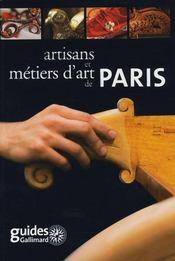 Artisans et métiers d'Art de Paris - Intérieur - Format classique