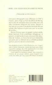 L'étrangère aux yeux bleus - 4ème de couverture - Format classique