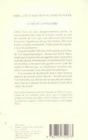 Clara et la pénombre - 4ème de couverture - Format classique