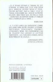 Les Forcenes - Rn N 362 - 4ème de couverture - Format classique
