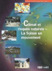 Climats Et Risques Naturels - Couverture - Format classique
