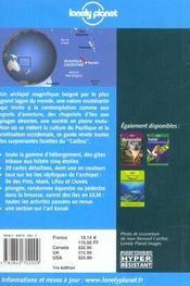 Nouvelle-Calédonie. Inclut Une Section Consacrée À La Plongée - 4ème de couverture - Format classique
