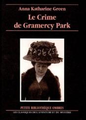 Le crime de Grameracy Park - Couverture - Format classique