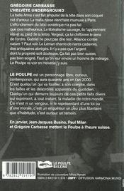 L Helvete Underground - 4ème de couverture - Format classique