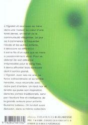 L'ogrelet - 4ème de couverture - Format classique