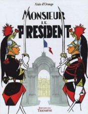 Monsieur le président - Couverture - Format classique