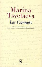 Les carnets t.1 - Intérieur - Format classique