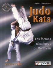 Judo kata ; les formes classiques du kodokan - Intérieur - Format classique
