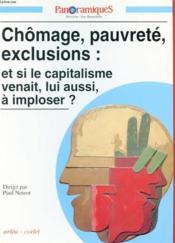 REVUE PANORAMIQUES N.9 ; chômage, pauvreté, exclusions : et si le capitalisme venait, lui aussi, à imploser ? - Couverture - Format classique