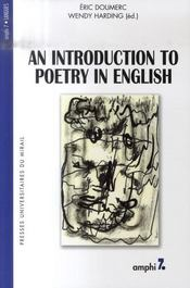 An introduction to english poetry - Intérieur - Format classique