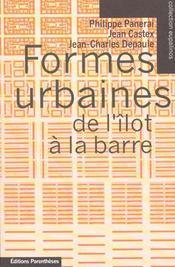 Formes urbaines de l'îlot à la barre - Intérieur - Format classique