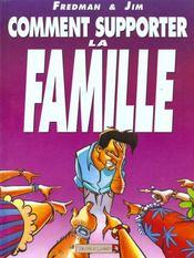 Jim t.1 ; comment supporter la famille - Intérieur - Format classique