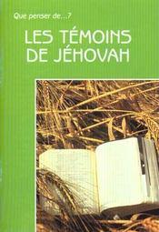 Les Temoins De Jehovah. 2e Edition Revue - Intérieur - Format classique