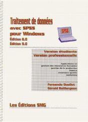 Traitement de donnees avec spss pour windows (edition 8.0, 9.0) - Couverture - Format classique