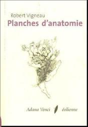 Planches d'anatomie - Couverture - Format classique