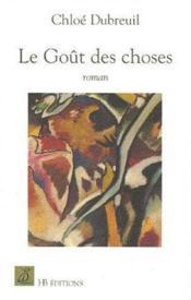 Le Gout Des Choses - Couverture - Format classique