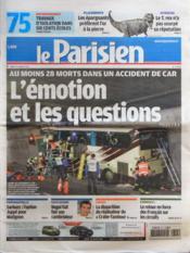 Parisien 75 (Le) N°20996 du 15/03/2012 - Couverture - Format classique