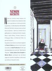 Ninon secrète t.6 ; décisions - 4ème de couverture - Format classique