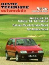 Rta 714.1 Fiat Uno Es&D(>95) & Td(>90) & Fiorino D - Couverture - Format classique