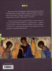 Petite Encyclopedie Du Catholicisme Pour Tous - 4ème de couverture - Format classique