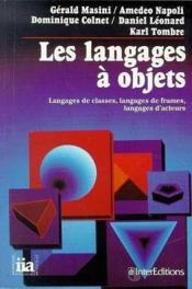 Les Langages A Objets - Couverture - Format classique