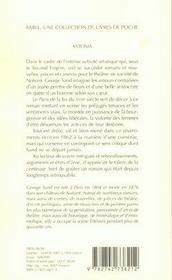 Antonia babel 539 - 4ème de couverture - Format classique
