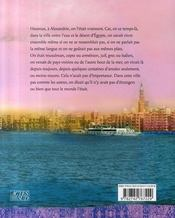 Contes d'alexandrie - 4ème de couverture - Format classique