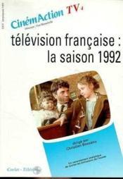 Cinemaction Tv N.4 ; Télévision Française ; La Saison 1992 - Couverture - Format classique