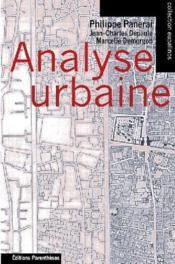 Analyse urbaine - Couverture - Format classique