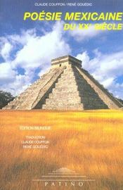 Poesie mexicaine du xx siecle - Intérieur - Format classique