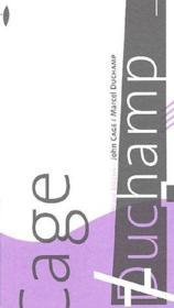 John Cage / Marcel Duchamp - Couverture - Format classique