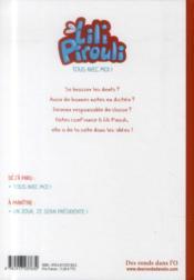 Lili Pirouli T.1 ; tous avec moi ! - 4ème de couverture - Format classique