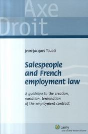 Salespeople and french employment law - Intérieur - Format classique