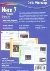 Nero 7 Premium - 4ème de couverture - Format classique