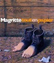Magritte Tout En Papier - Couverture - Format classique