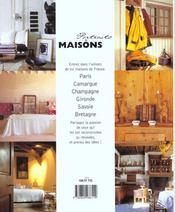 Portraits De Maisons - 4ème de couverture - Format classique